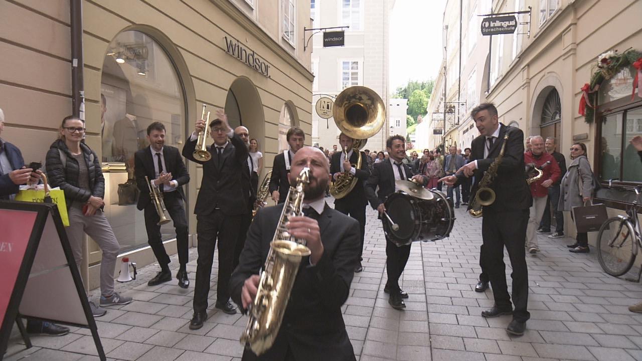 ザルツブルクのブラスバンド